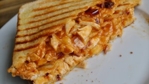 Ultimate BBQ Chicken Cheesy Toastie Recipe - 1
