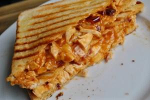 Ultimate BBQ Chicken Cheesy Toastie Recipe - 1