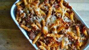 bolognese pasta bake recipe - 1