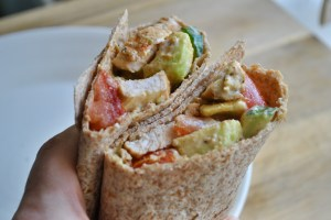 Cajun Chicken Avocado Salad Wrap Recipe - 1