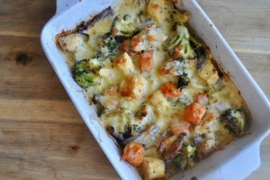 cheesy chicken vegetable bake recipe - 2
