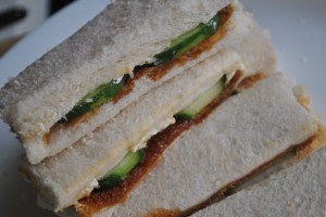 marmite cucumber cheese sandwiches recipe - 1