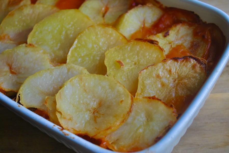 vegan vegetable hotpot recipe - 1