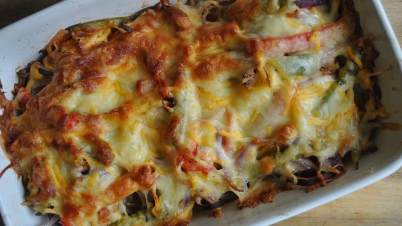Easy Chicken Fajita Bake Recipe - 1