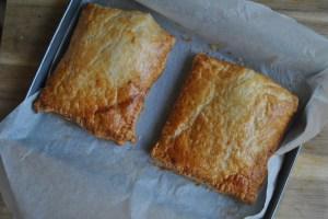 Garlic and Cheese Chicken Puff Pastry Bake Recipe - 1