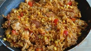 chicken chorizo rice