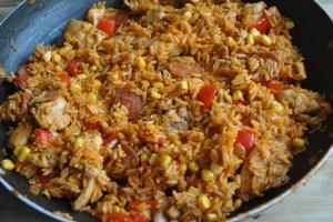 chicken chorizo rice recipe - 2 (1)