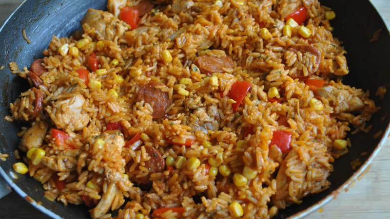 chicken chorizo rice recipe - 2 (1)