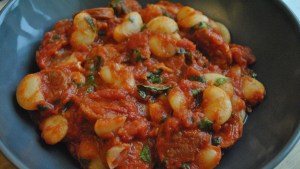 chorizo bean stew recipe - 1