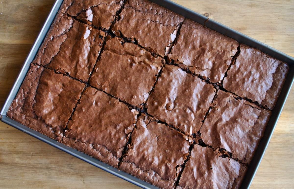 easy simple brownies recipe - 2