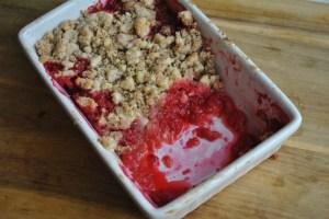 Apple and raspberry crumble recipe - 4