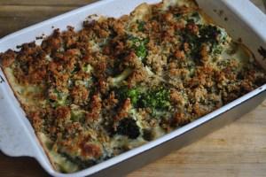 Cheesy Broccoli Stuffing Gratin Recipe - 2