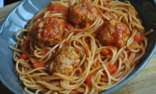 easy spicy meatballs recipe - 1