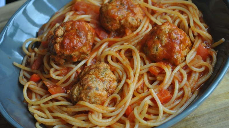 easy spicy meatballs recipe - 1