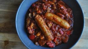 sausage bean chorizo casserole recipe - 2