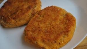 Vegetarian bean cheese burgers recipe - 1