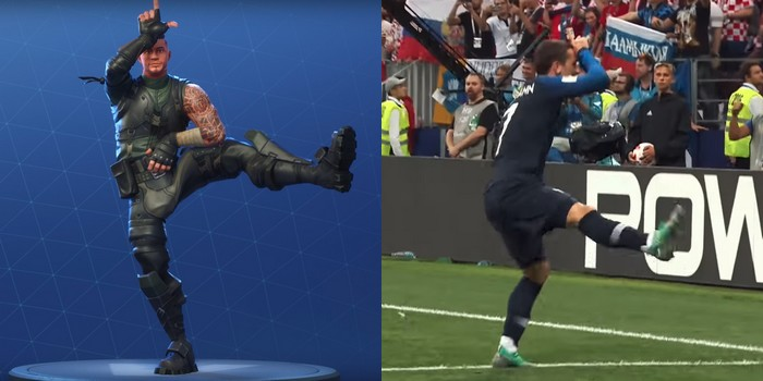 Frances Antoine Griezmann Taunts Croatia Fortnite Style at the World Cup Final  Student Edge