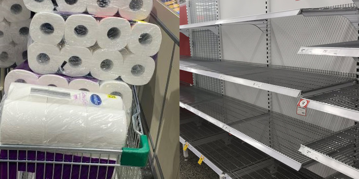 Australians Are Panic-Buying Toilet Paper Because of Coronavirus ...