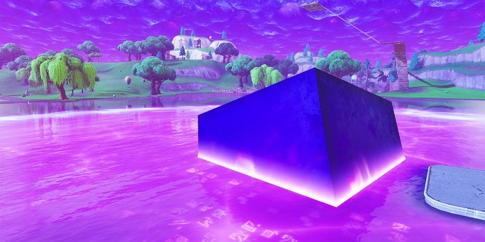 See You Again Fortnite Fans Are Mourning Kevin the Cube Who Was Too Beautiful For This World