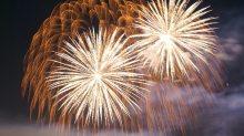 fireworks new years celebration
