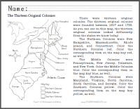 Printables. Colonial America Worksheets. Ronleyba ...