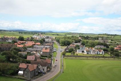 Bamburgh town