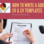 How to write a successful CV & download CV templates