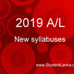 Download New A/L syllabuses and Teacher guides for 2020 – 2019