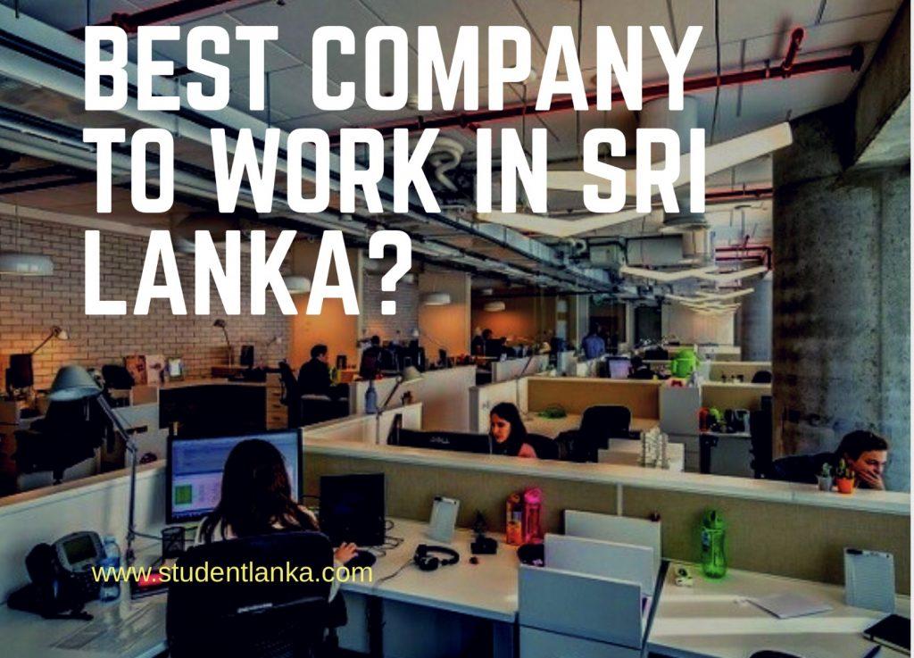 Best Company To Work In Sri Lanka