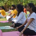 Yoga classes at Indian Cultural Center, Colombo, Sri Lanka