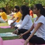 Yoga classes at Indian Cultural Center, Colombo, Sri Lanka