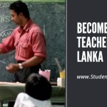 How to become a teacher in Sri Lanka?