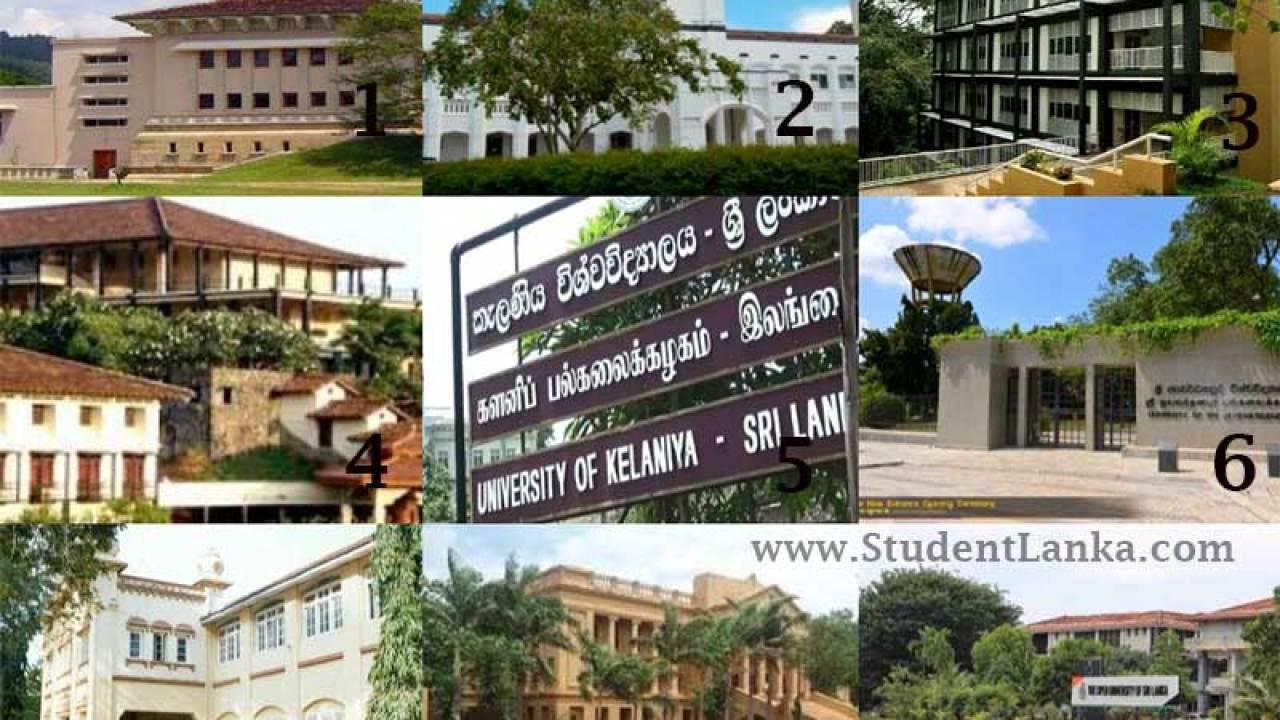 Webometrics World Ranking of Sri Lankan Universities 2019