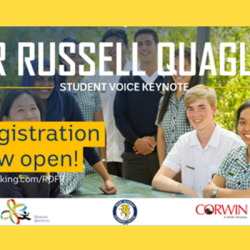 Student Voice Expert to Speak in Australia
