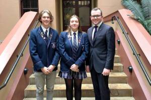 Student Leaders Walk the Halls of Parliament
