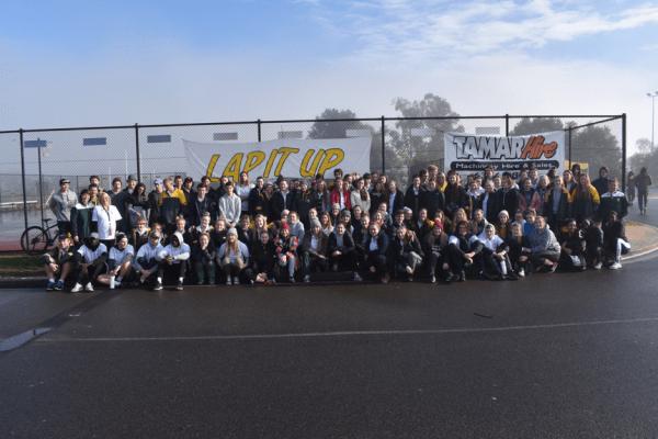 Students Complete 24hr Triathlon Fundraiser