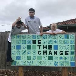 Students Unveil Community Art