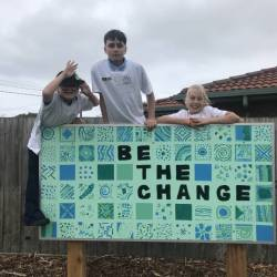 Students Unveil Community Art