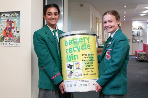 Students Launch Battery Recycling