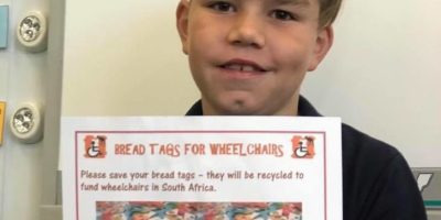 Bread Tags for Wheelchairs