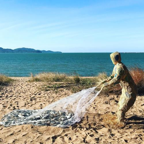 St Patrick's College Creates Fisherman Sculpture With Meaning