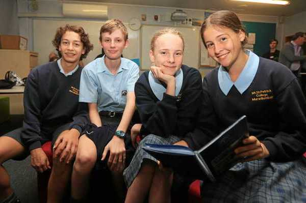 Mt St Patricks Students Write a Book in a Day