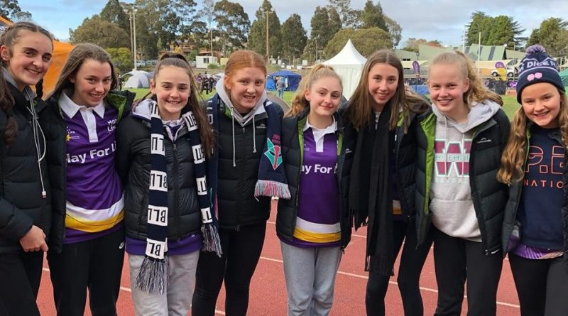 Our Lady of Sion Students Walk Laps for Life