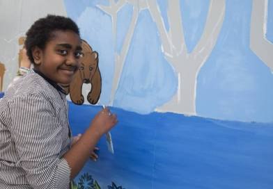 Grantlea Downs School Celebrates Diversity with Mural
