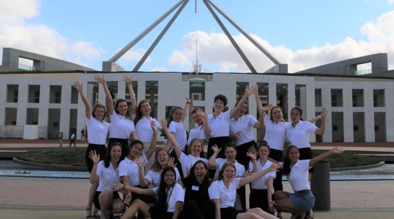 Country to Canberra Leadership Competition for Year 10-12 Girls Open