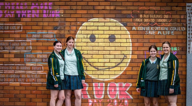 Student Leaders Go All Out for RUOK Day 2020