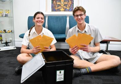Nagle Students Seal a Special Time Capsule