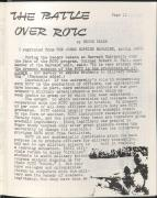 Abolish ROTC Pamphlet from Students for a Democratic Society