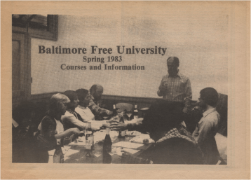 Baltimore Free University Catalogue
