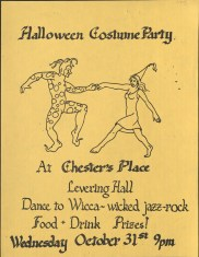 Flyer for Chester's Place (1970s)